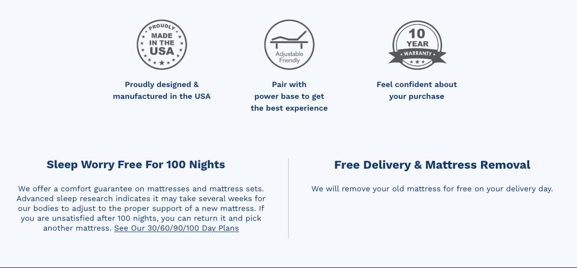 Mattress guarantee