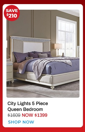City Lights Bedroom