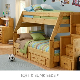 Lofted beds, Bunk Beds