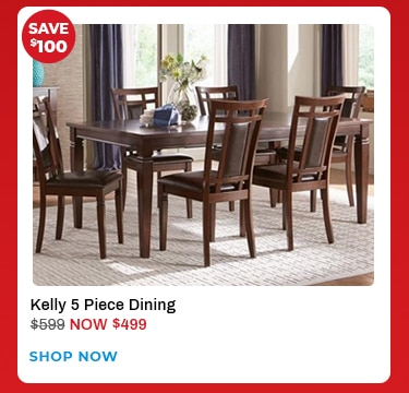 Kelly 5 pc dining